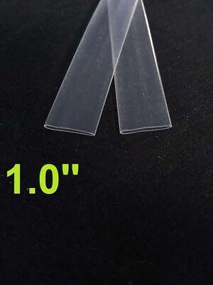 1.0 Inch 25mm Clear 21 Heat Shrink Tubing Polyolefin 1foot