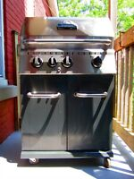 BBQ Broilmate de qualité / 2 side-panels + 1 side-burner