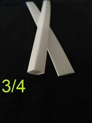 34 Inch 19mm White 21 Heat Shrink Tubing Polyolefin 1foot