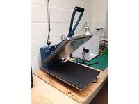 """Hix HT600 16 x 20"""" Flat Bed Heat Press"""