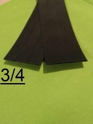 34 Inch 18mm  Black 31 Heat Shrink Tubing Polyolefin 1 Foot