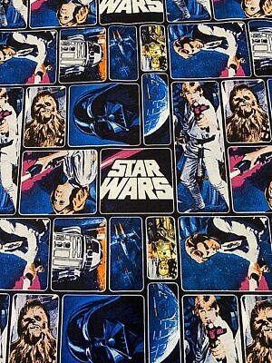 Star Wars - Classic Painted Characters - Fabric Material