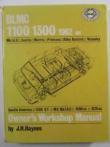 Haynes BLMC 1100 / 1300 1962 on