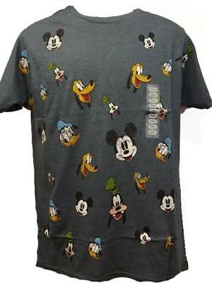 New Mickey Mouse Donald Duck Goofy Pluto Disney Mens S-2XL Licensed Shirt $20](Mens Mickey Mouse Shirt)