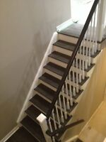 *****STAIRS CAPPING AND REFINISHING, REFRESH TODAY!!!*******