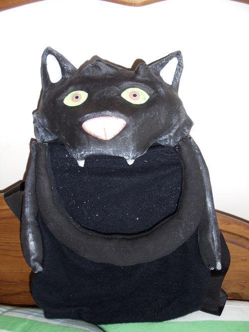 One Hundred 80 Degrees Bat Treat BackPack Halloween NWT