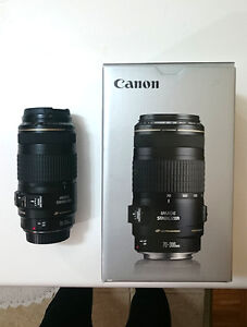 Canon 70-300 F 4-5-6 IS - Image Stabilized