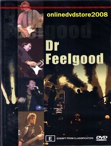 DR FEELGOOD - CLASSIC Rock LEGENDS - LIVE Music DVD (NEW & SEALED) REGION 4