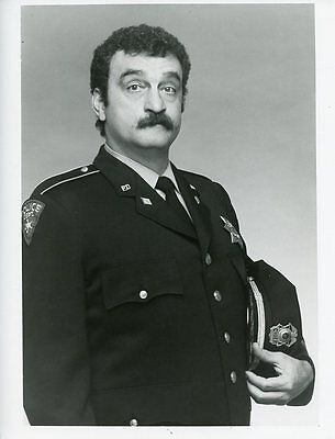 VICTOR FRENCH IN POLICE UNIFORM CARTER COUNTRY ORIGINAL 1977 ABC TV PHOTO