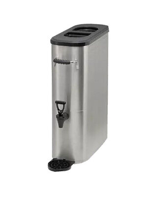 Beverage Dispenser Stainless Steel 3gallon Iced Tea Iced Coffee Winco Ssbd-3
