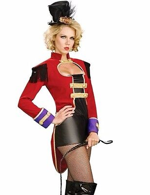 Ringmaster Costume Sexy Female Greatest Show Circus Womens Ring Mistress - Fast](Circus Costume For Women)