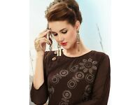 DIVA DESIGN AKIRA WHOLESALE READYMADE ETHNIC TUNICS ON TEXTILEDEAL.IN