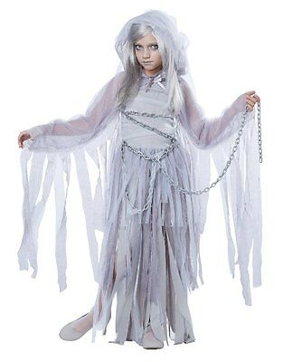 CHILDRENS GIRLS HAUNTED BEAUTY COSPLAY SCARY SPOOKY HALLOWEEN COSTUME S-XL - Scary Costumes For Girls For Halloween