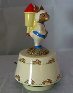 "Royal Doulton Bunnykins 1984 ""Fly Me To The Moon"" West Island Greater Montréal image 3"