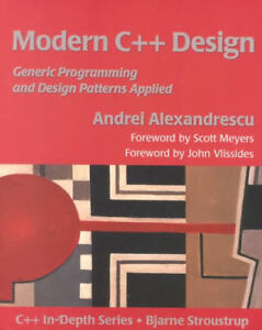 Modern C++ Design Book for sale