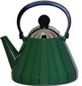 Judge Induction Stove Top 1.9L Kettle Green Suitable  for Aga Rayburn