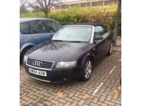 Black Audi A4 convertible - 1.8T Beautiful Car for sale