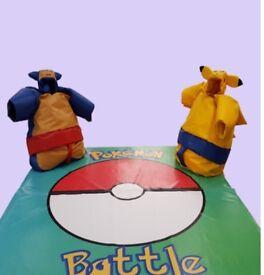 Rare adult Pokemon sumo suits