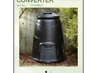 Brand new 220 litre compost bins
