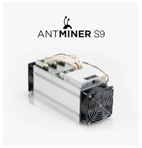 Antminer S9j 14.5 TH/s with PSU