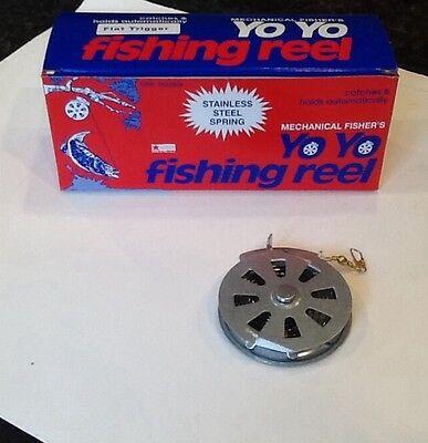 Mechanical Fisher's Automatic Yo Yo Fishing Reel Camping Survival Preparedness (Mechanical Fisher Yo Yo Automatic Fishing Reel)