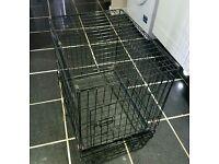 Dog Crate Cage Medium 60x44cm