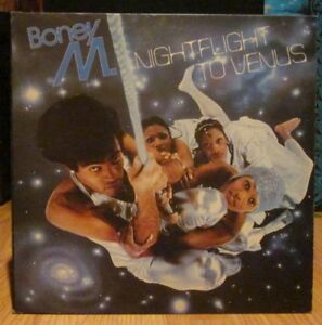 "BONEY M Vinyl LP - Nightfight To Venus ""Original"" 1978"