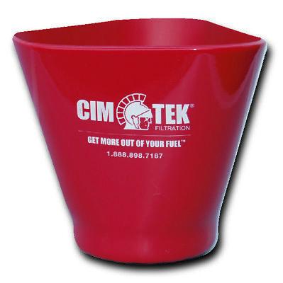 Cim-tek 60072 Ez-grip Filter Cup Large For 5 Diameter Filters.