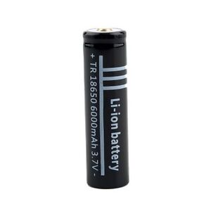 For Sell 3.7V 6000mAh 18650 Li-ion Rechargeable Battery for Flas