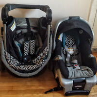 FastAction Travel System with classic connect car seat