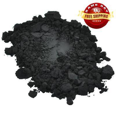 BLACK IRON OXIDE POWDER PIGMENT USP PHARMACEUTICAL GRADE  for DIY 4 OZ