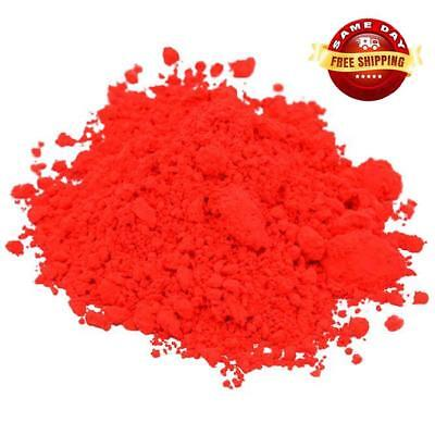 RED NEON COLORANT PIGMENT POWDER for CRAFTS SOAP MAKING 4 OZ