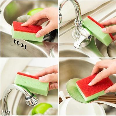 1X Universal Sponge Brush Set Kitchen Cleaning Tools -