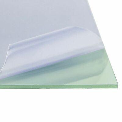 Lexan Polycarbonate Sheet 0.220 14 X 12 X 24 Clear Glass Green Tint