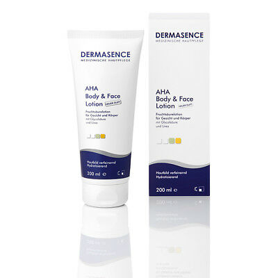DERMASENCE AHA body and face Lotion 200ml PZN 00976913