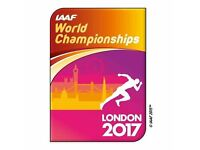 IAAF World Athletic Championships 2017, Olympic Park, London, Gold Session -2 x Child, Fri 11th Aug
