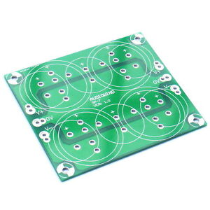 Capacitor Filter PCB, for Upgrade Audio Power Amplifier