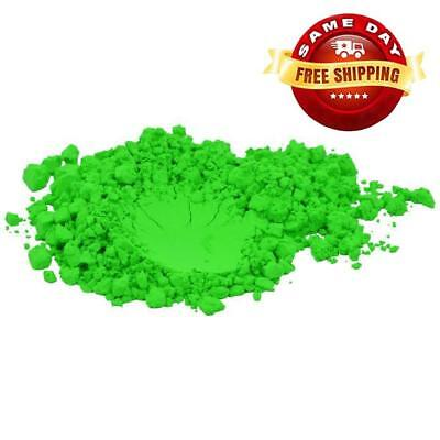 GREEN NEON COLORANT PIGMENT POWDER for CRAFTS SOAP MAKING 4 OZ