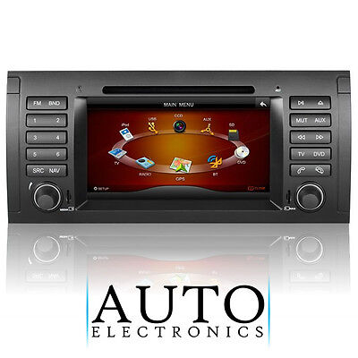 OEM-Style Radio/DVD/iPod/Bluetooth/GPS/Sat-Nav/USB/SD for BMW E39 5-Series