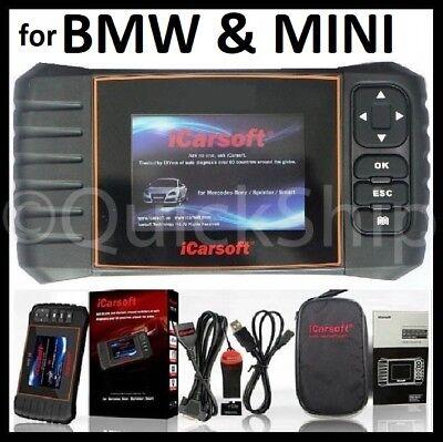 Fits BMW MINI Diagnostic Scanner Tool SRS ABS  ENGINE READER iCarsoft BMII i910