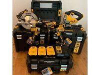 Dewalt 18volt 5 tool set