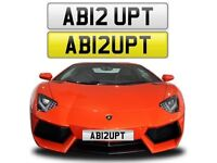 ABRUPT cherished private personalised number plate car reg - AB12UPT