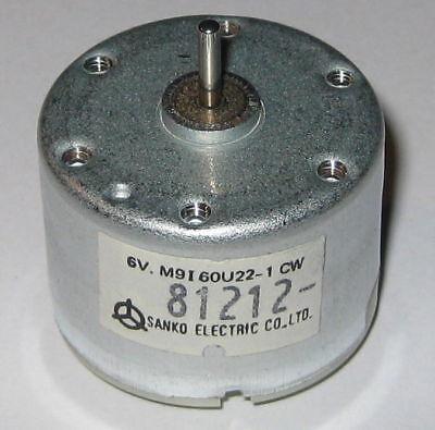 6v Dc Motor - High Efficiency Solar Motor - 4400 Rpm - Sanko Electric Dc Motor