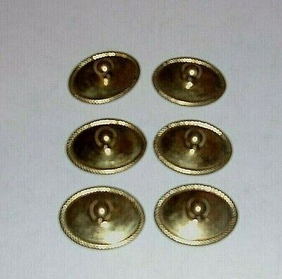 4 small Pineapple handles aged solid Brass PULL knobs kitchens antiques 6cm B