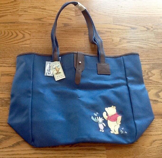 Disney Store vintage Winnie the Pooh book bag.diaper bag NWT