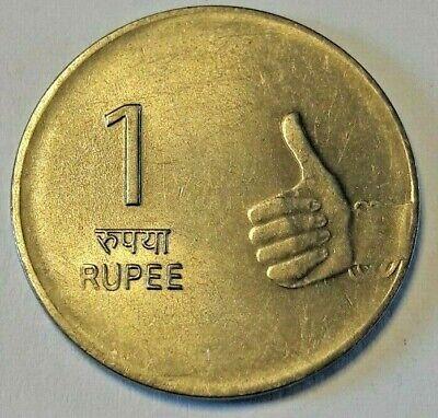 Indien 1 Rupee 2010 KM# 331 Inde India