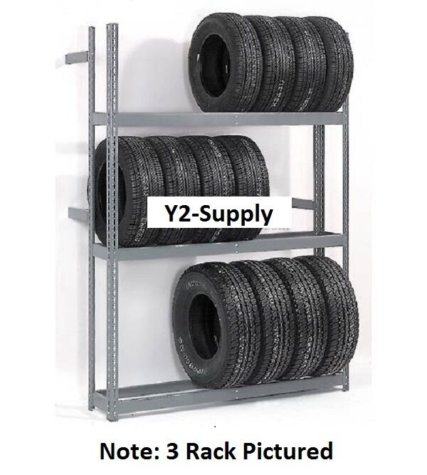 NEW! 4 Tier Single Entry Tire Rack!!