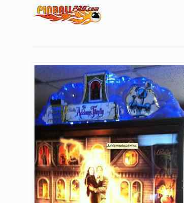 The Addams Family Pinball Machine Light Kit for Topper Williams Bally