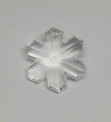 20mm Swarovski Crystal Clear Snowflake 6704 Pendant/ Ornament