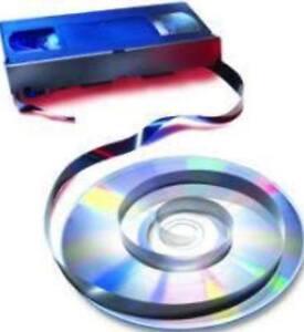 Service to convert 5 x VHS/VHSC/8mm/Hi 8/Digital 8 or Mini DV to DVD or USB